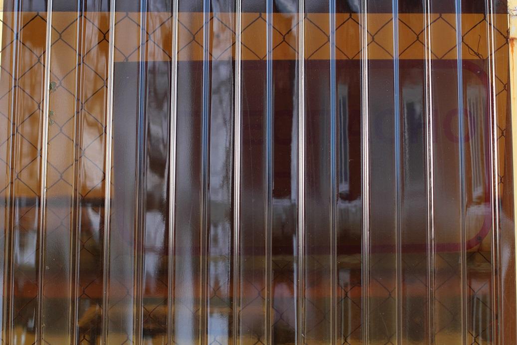 Профнастил ПЭТ прозрачный окрашенный