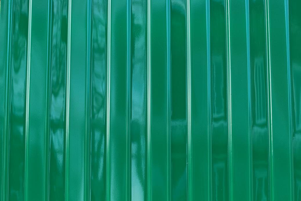 Профнастил ПЭТ зеленый