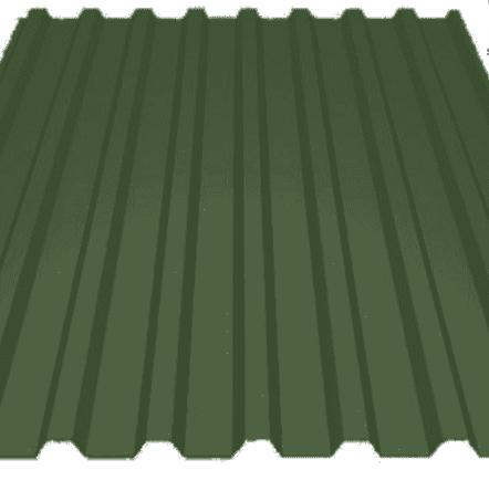 """Профилированный лист МП 20 PURETAN 05мм """"Тёмно-зелёный"""""""