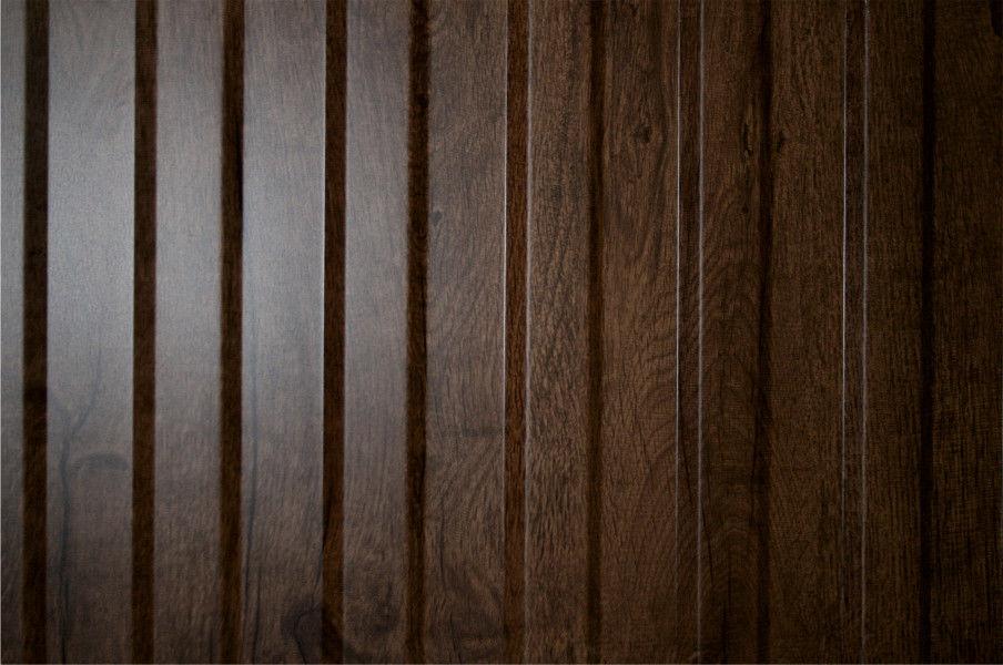 """Профилированный лист С 8  Ecosteel """"Морёный Дуб"""" 05 мм"""