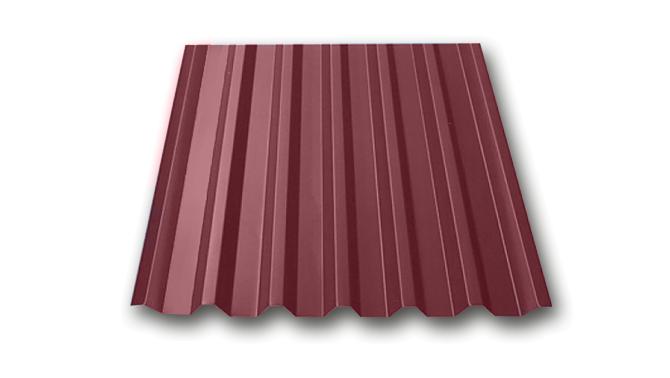 Профилированный лист МП 20 NORMAN 05mm 3005 Красное вино