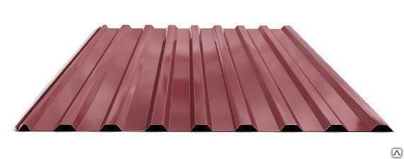Профилированный лист МП 20 NORMAN 05mm 3011 Красно-коричневый