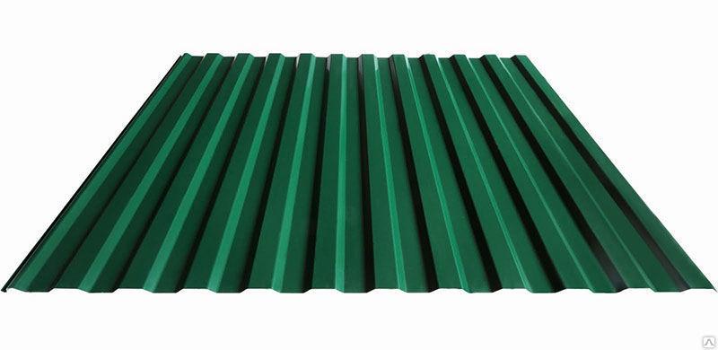 Профилированный лист МП 20 NORMAN 05mm 6005 Зеленый мох