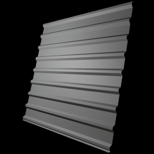Профилированный лист МП 20 NORMAN 05mm 7004 Серый
