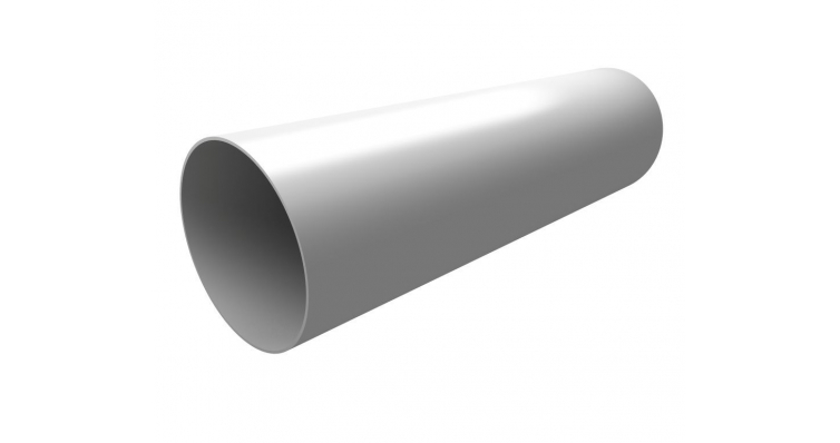 Труба водосточная Ø87, 3м белая