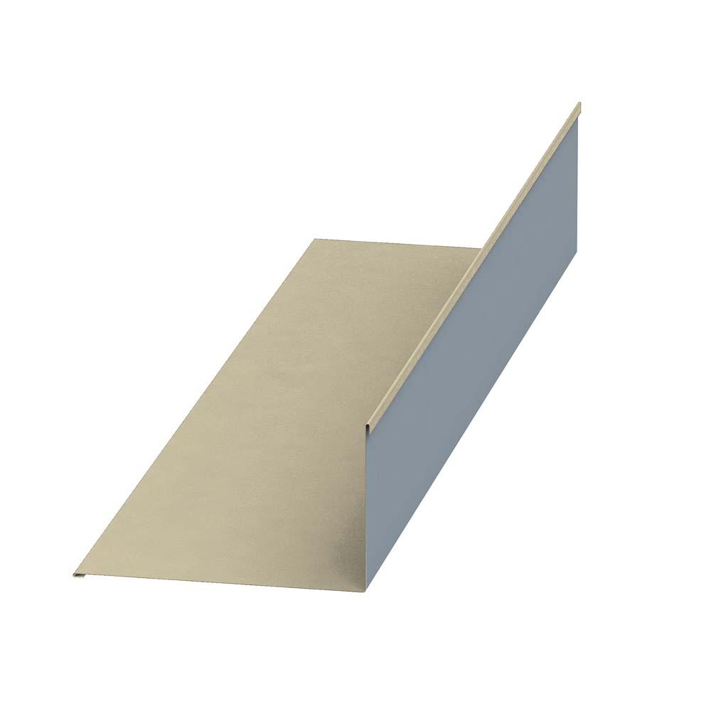 Планка примыкания верхняя(Цинк)